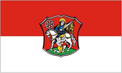 Fahne / Flagge Neustadt Hessen 90 x 150 cm