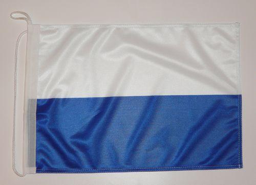 Bootsflagge Blau / Weiß 30 x 45 cm