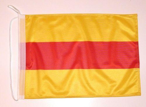 Bootsflagge Baden 30 x 45 cm