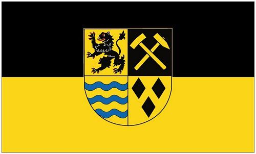 Fahne / Flagge Landkreis Mittelsachsen 90 x 150 cm