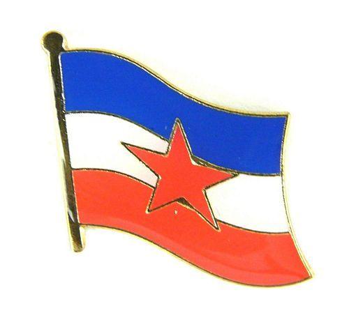 Flaggen Pin Fahne Jugoslawien Pins Anstecknadel Flagge