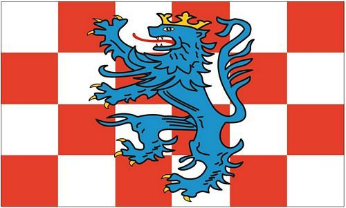 Fahne / Flagge Landkreis Birkenfeld 90 x 150 cm