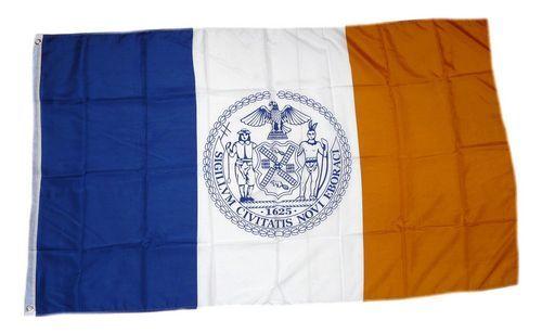 Fahne / Flagge USA - New York City 90 x 150 cm