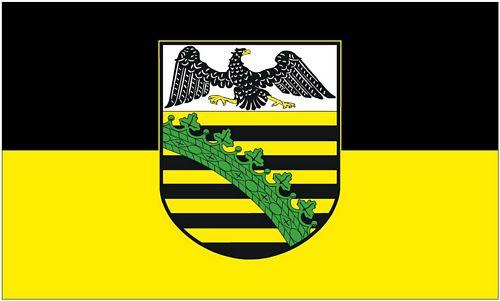 Flagge Kurf/ürstentum Sachsen NEU 90 x 150 cm Fahne