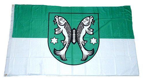 Fahne / Flagge Saalfeld 90 x 150 cm