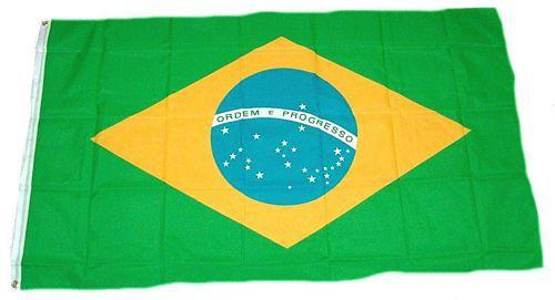 Flagge / Fahne Brasilien Hissflagge 90 x 150 cm