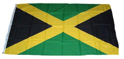 Flagge / Fahne Jamaika Hissflagge 90 x 150 cm