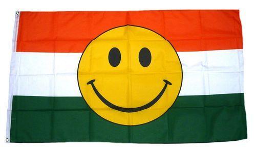Fahne / Flagge Indien Smile 90 x 150 cm