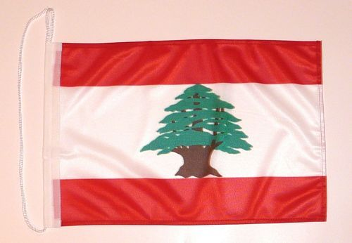 Bootsflagge Libanon 30 x 45 cm