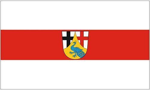 Fahne / Flagge Landkreis Neuwied 90 x 150 cm