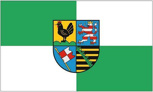 Flagge Fahne Landkreis Altenburger Land Hissflagge 90 x 150 cm