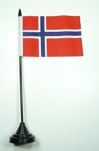 Fahne / Tischflagge Norwegen NEU 11 x 16 cm Flaggen