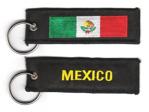 Fahnen Schlüsselanhänger Mexiko