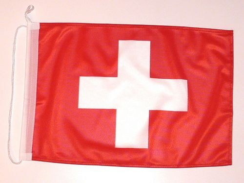 Bootsflagge Schweiz 30 x 45 cm