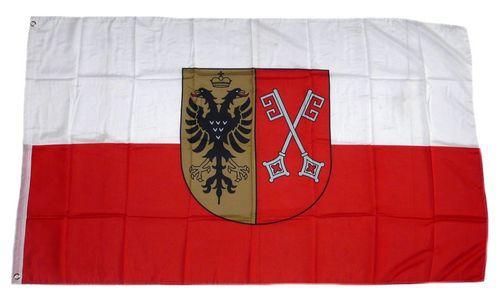 Flagge / Fahne Minden Westfalen Hissflagge 90 x 150 cm