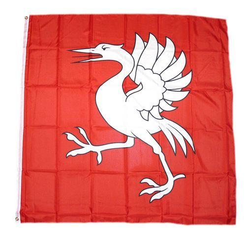 Fahne / Flagge Schweiz - Bezirk Greyzer 120 x 120 cm