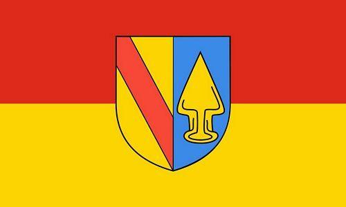 Fahne / Flagge Teningen 90 x 150 cm