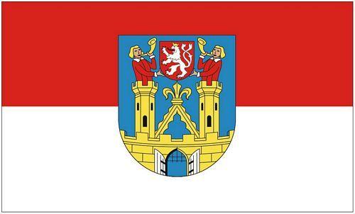 Fahne / Flagge Kamenz 90 x 150 cm