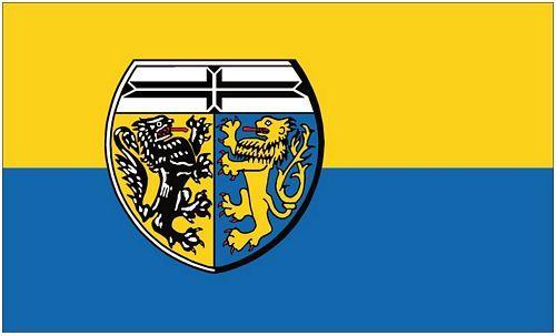 Fahne / Flagge Landkreis Viersen 90 x 150 cm