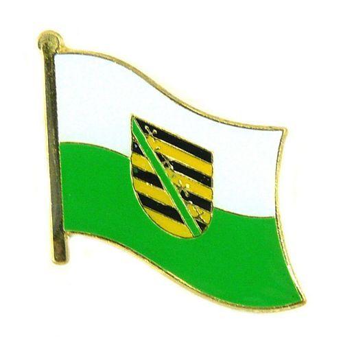 Flaggen Pin Fahne Sachsen Pins NEU Anstecknadel Flagge