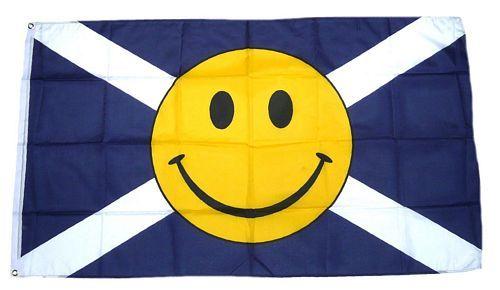 Fahne / Flagge Schottland Smile 90 x 150 cm