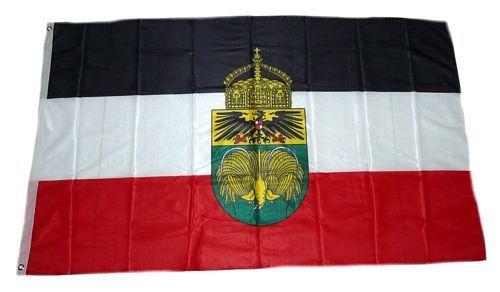 Fahne / Flagge Deutsch Neuguinea Krone 90 x 150 cm