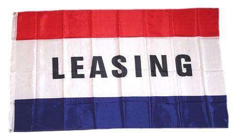 Fahne / Flagge Leasing 90 x 150 cm