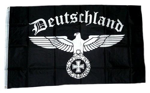 Fahne Flagge Reichsadler Deutsches Reich Deutschland