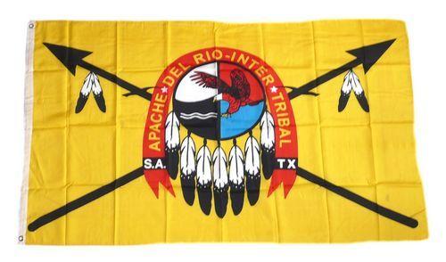 Fahne / Flagge Indianer - Apachen 90 x 150 cm