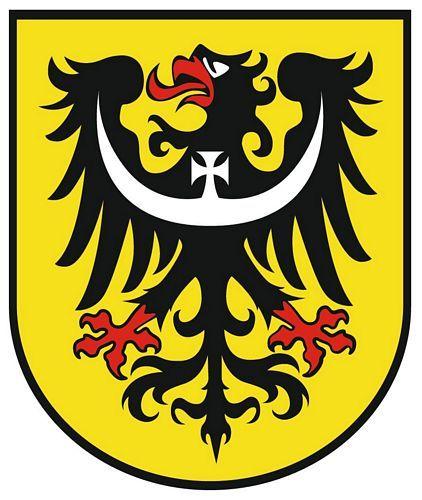 Wappenschild Aufkleber Sticker Niederschlesien