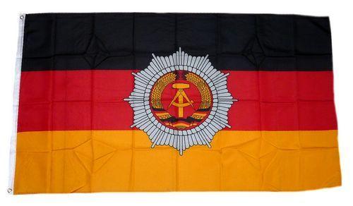 Fahne / Flagge DDR - Volkspolizei 90 x 150 cm