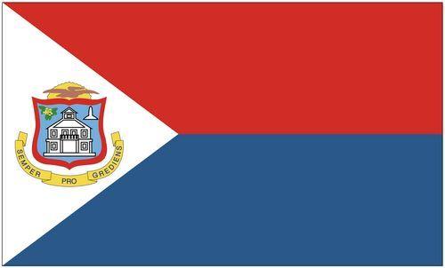 Fahne / Flagge St. Maarten 90 x 150 cm