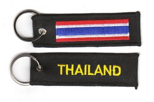 Fahnen Schlüsselanhänger Thailand