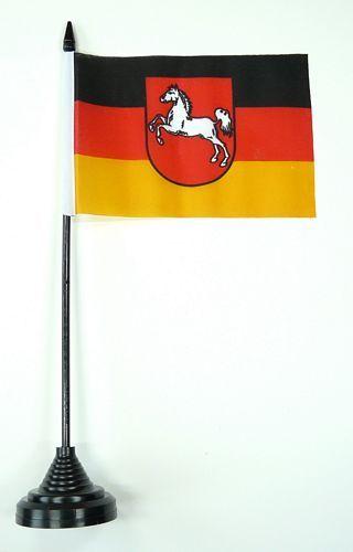 Fahne / Tischflagge Niedersachsen 11 x 16 cm Flaggen
