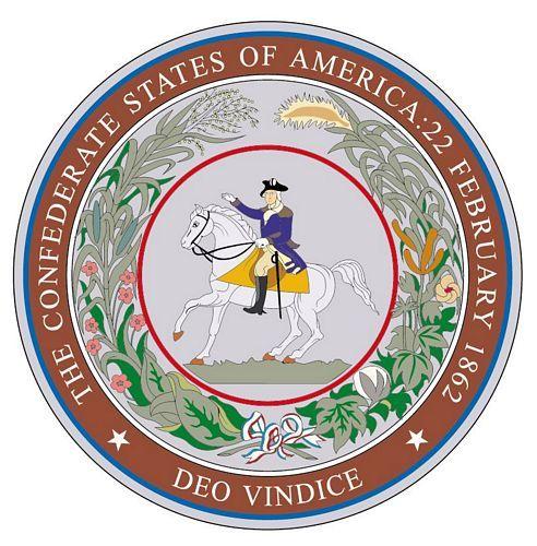 Fahnen Aufkleber Sticker Siegel Südstaaten