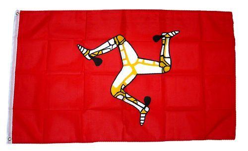 Fahne / Flagge Isle of Man 90 x 150 cm