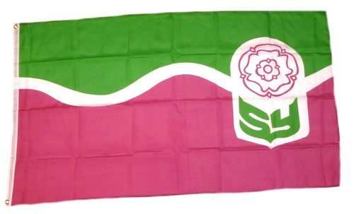 Fahne / Flagge England - South Yorkshire 90 x 150 cm