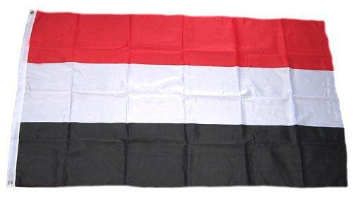 Flagge / Fahne Jemen Hissflagge 90 x 150 cm