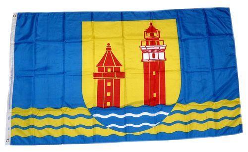 Fahne / Flagge Dahme 90 x 150 cm