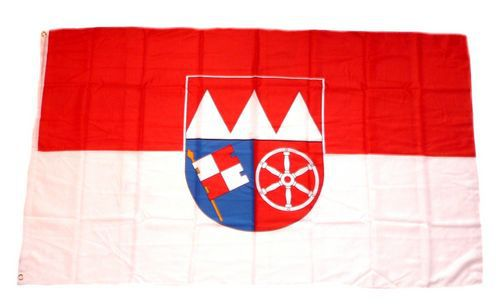 Flagge / Fahne Unterfranken Hissflagge 90 x 150 cm