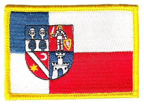 Fahnen Aufnäher Slowakei - Banska Bystrica