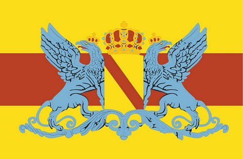 Fahnen Aufkleber Sticker Großherzogtum Baden