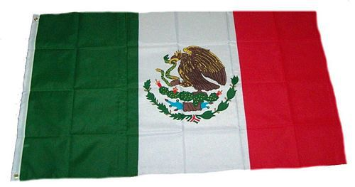 Flagge / Fahne Mexiko Hissflagge 90 x 150 cm