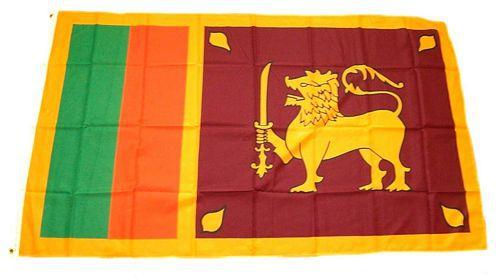 Flagge / Fahne Sri Lanka Hissflagge 90 x 150 cm