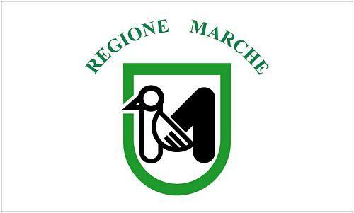Fahne / Flagge Italien - Marken 90 x 150 cm