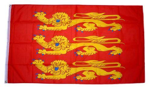 Fahne / Flagge Frankreich - Haute Normandie 90 x 150 cm