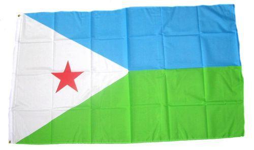 Flagge / Fahne Dschibuti Hissflagge 90 x 150 cm