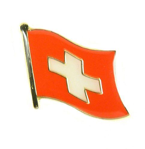 Flaggen Pin Fahne Schweiz Pins NEU Anstecknadel Flagge