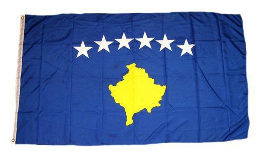 Flagge / Fahne Kosovo Hissflagge 90 x 150 cm