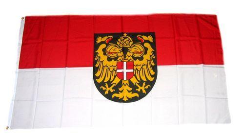 Fahne Flagge Wiener Neustadt 90 x 150 cm